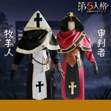 Game Identity V Prophet Cosplay Costume Uniform Cloak Robe Halloween Costumes for