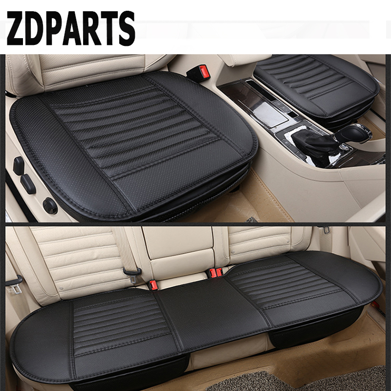 Zdparts 4 вида цветов кожа стайлинга автомобилей Подушки Чехлы для сидений мотоциклов Pad для Toyota Corolla Avensis RAV4 C-HR Volkswagen VW Passat B6 b5 Мужские поло
