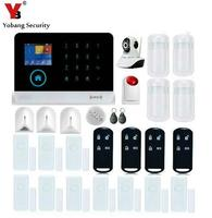 YobangSecurity Wireless Video IP Camera WIFI GSM GPRS House Burglar Intruder Alarm System Android IOS APP