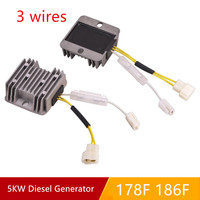 AVR 3 WIRE OLD FOR 178F 186F DIESEL FREE POSTAGE 5KW GENERATOR AUTOMATIC VOLTAGE REGULATOR PUMPER