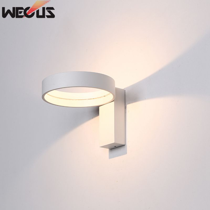 Modern LED Wall Lamps Rotating Flexibility Bedroom Wall Lights Aluminum Body Indoor Bedside Lighting modern led night light usb charging sensor lights car rear lantern reading lights bedroom bedside lamps indoor lighting