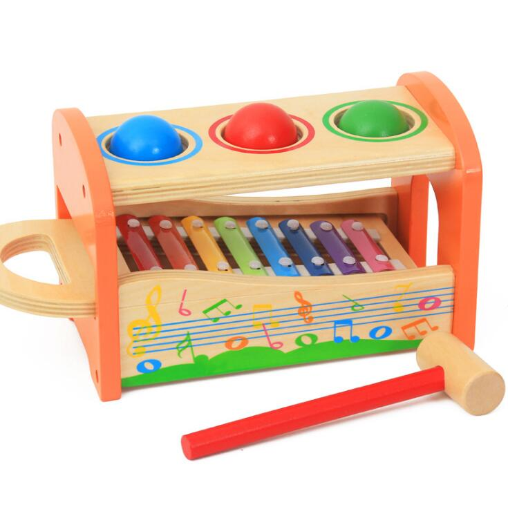 Pound A Ball Toy Toys : Brand kids pound tap bench with slide out xylophone for