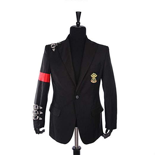 Майкл Джексон куртка пальто длинное приталенное двубортное с отложным воротником мужское Модное теплое длинное пальто Верхняя одежда с кепкой - 4