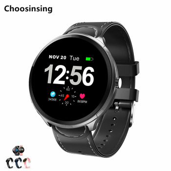 Smart Wrist Watches Fitness Bracelet Blood Pressure Heart Rate ECG Alarm Spanish Russian  Male Female Android Digital Smartwatch