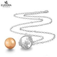 Mariana Guardian Angel Pregancy Women Jewelry Floral Chime Bola Pendant Eudora Harmony Ball Chain Necklace Make