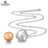 Mariana Guardian Angel Pregancy Women Jewelry Floral Chime Bola Pendant Eudora Harmony Ball Chain Necklace Make