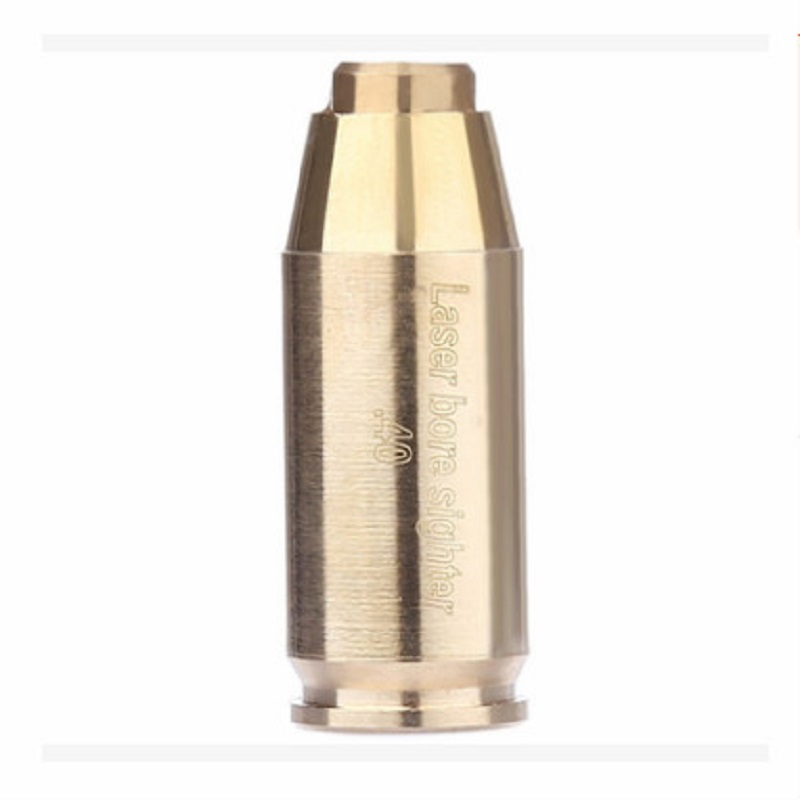 CAL 40 Brass Cartridge Red Laser Bore Sight Collimator BoreSighter