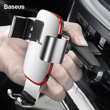 Baseus Gravity Car Mount Holder For Phone In Car CD Slot Car