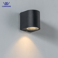 VW 5W Led Wall Lamp for outdoor wall Aluminum Surface Mounted Led Garden Porch Light lampara Outdoor Waterproof lamp fixture