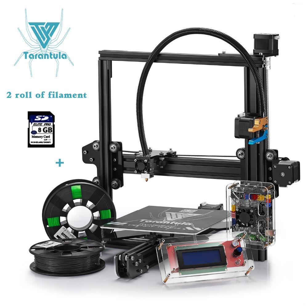 Impresora 3D Printer Diy Tevo Tarantula I3 3D printer -Single/Dual Extruder 3D Printer Kit/Dual extruder 3D Printer with SD card