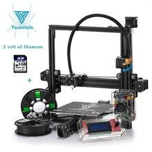 Impresora Tevo Tarantula I3 3D printer Diy 3D Printer kit  Single/Dual Extruder 3D Printer Kit LCD SD Card & two roll Filament