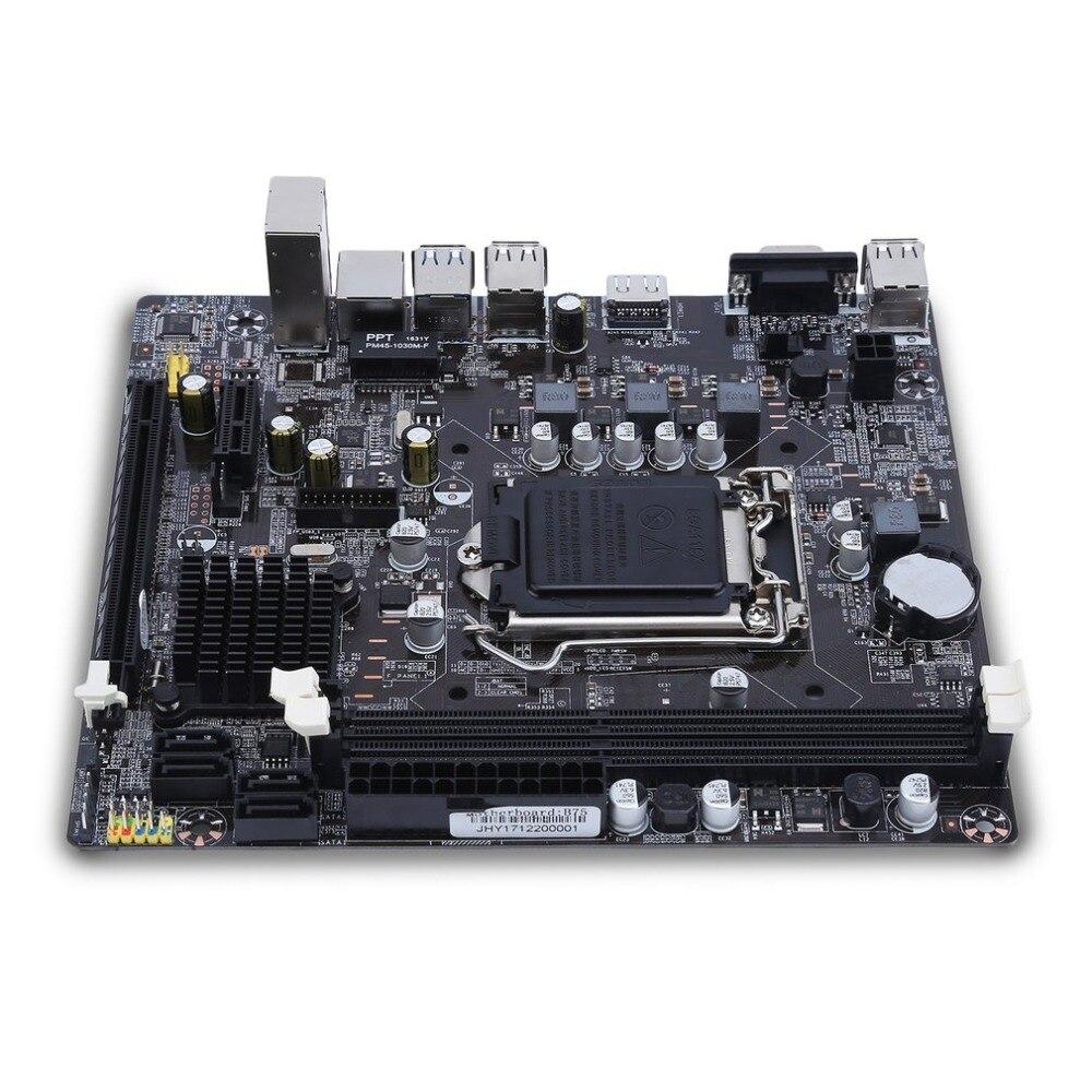 P55-A-1156 ordenador de escritorio placa base profesional CPU interfaz LGA 1156 Accesorios de ordenador duraderos