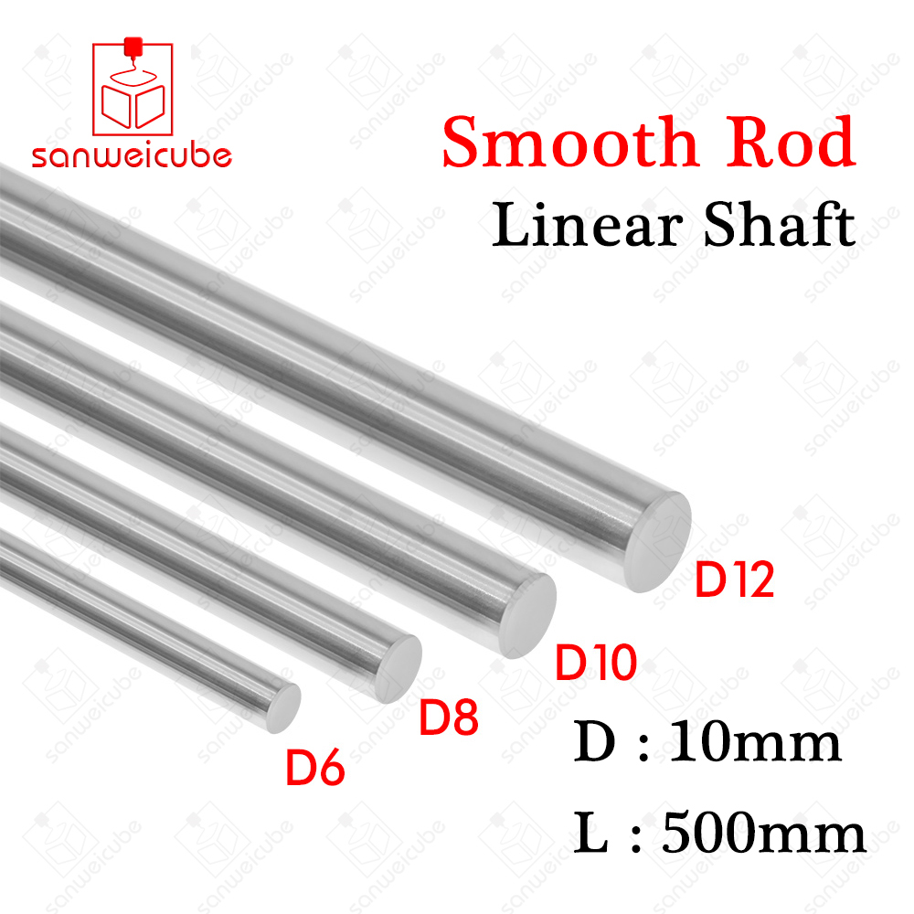 Dia 4mm-22mm Cylinder Rail Linear Shaft Smooth Rod Optical Axis Various Lengths