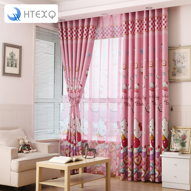 New arrive dot design cat curtain drapery lace decoration curtain ...