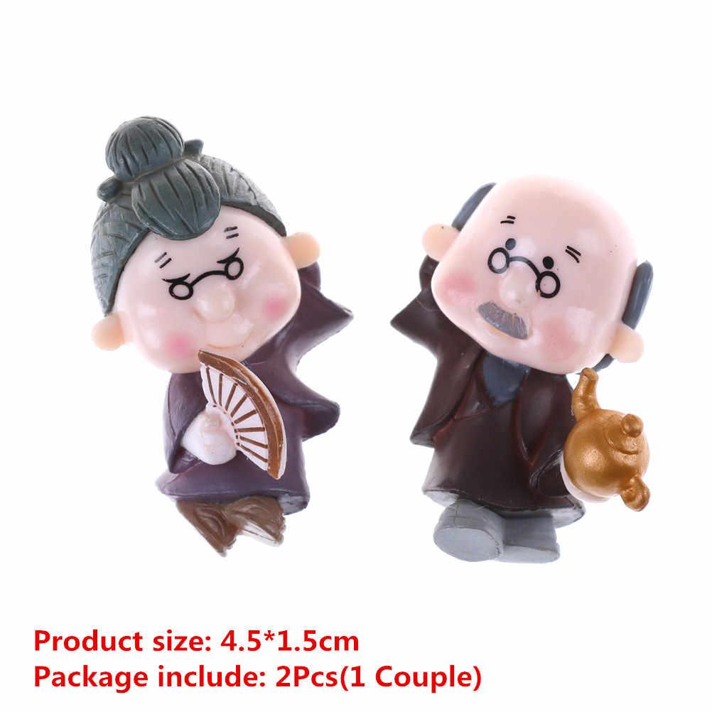1/2 шт. Kawaii Lover фигурки свадебные куклы миниатюры пару моделей Феи украшение для дома, сада детские игрушки аксессуары «сделай сам»