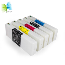 WINNERJET 700ml T6361-T6364 T6368 Compatible Ink Cartridge With Dye Ink and One Time Use Chip For Epson 7700 9700 Printer t6361 t6362 t6363 t6364 t6368 empty refillable ink cartridge with reset chip for epson stylus pro 7700 9700 printer 700ml pc