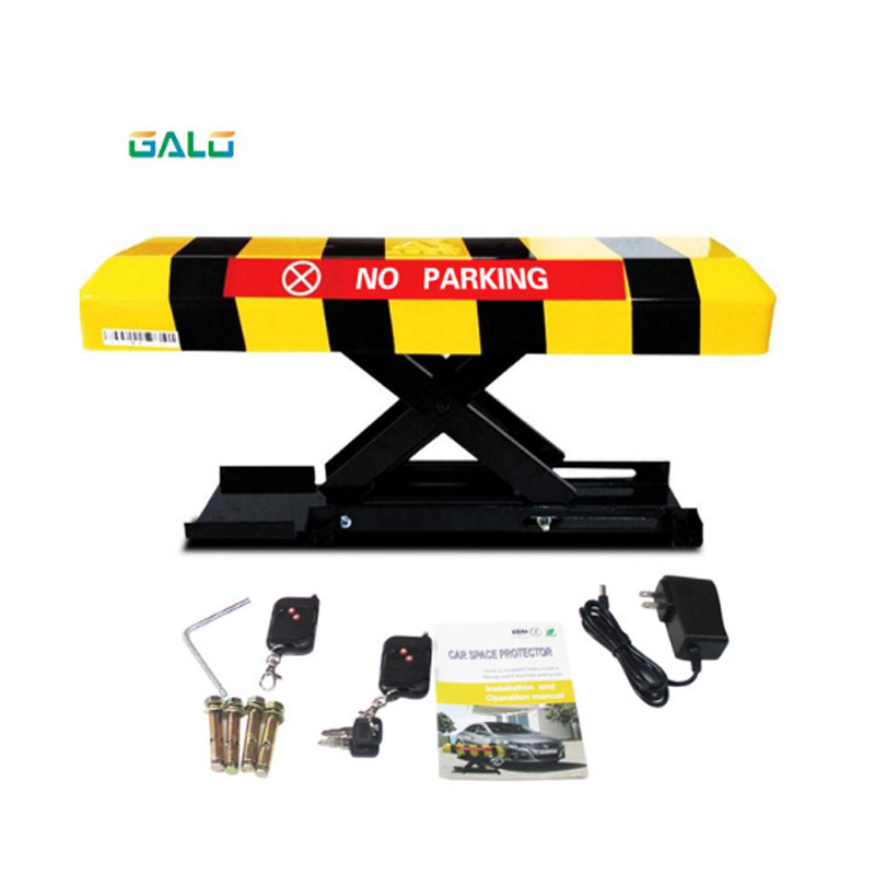 Remote Control Folding Fold Down Security Parking Lock Barrier Bollard Post With Lock & Bolts