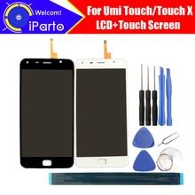 5.5 pulgadas Umi Touch/Touch X Pantalla LCD + Digitizador de la Pantalla Táctil Original del 100% Probado Pantalla LCD el Panel de Cristal para Touch + herramientas