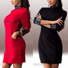 Women's dress New Fall-Spring Women Three