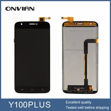 Doogee Y100 Plus lcd display+touch screen ,100%original repair replacement accessories for Doogee Y100 Plus