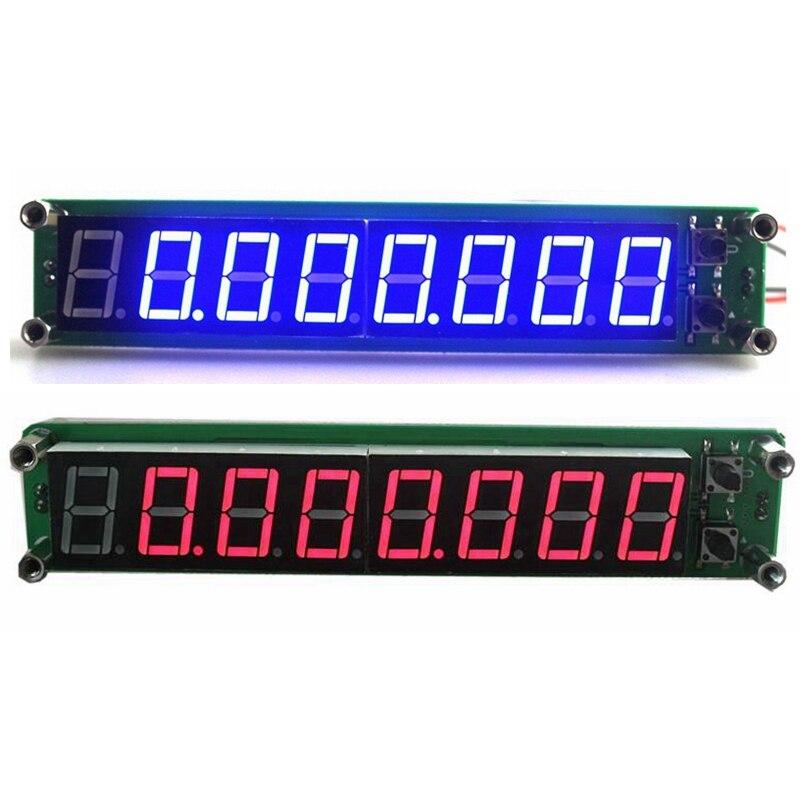 0.1 MHz ~ 60 MHz 20 MHz ~ 2.4 GHz Numérique Fréquence Compteur Compteur Testeur Cymometer 8 chiffres 0.56 LED Affichage