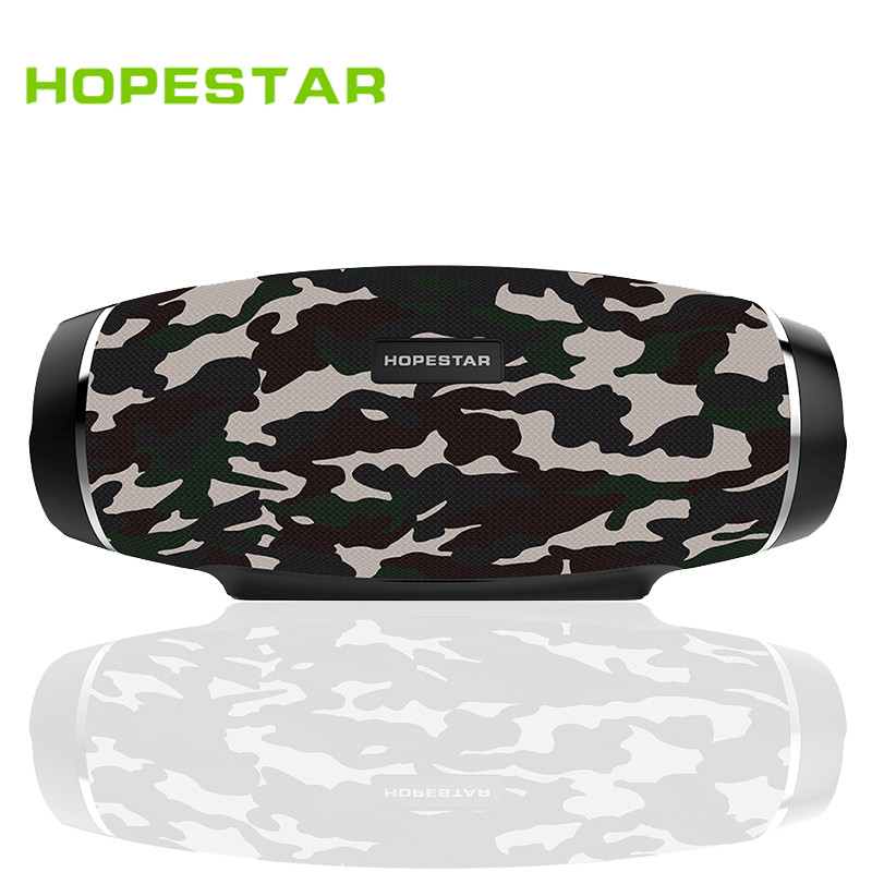 HOPESTAR Original H27 Rugby Bluetooth Speaker Wireless Mini Perfect Sound Heavy Bass Stereo Music Player Football Subwoofer