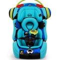 High end de cinco pontos ISOFIX assento de segurança infantil assento duro assento de carro do bebê para 0-9 anos de idade