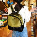 2017 New Vintage women's backpack  Mini velvet backpack small student school bag Velour shoulder bag female Free Shipping