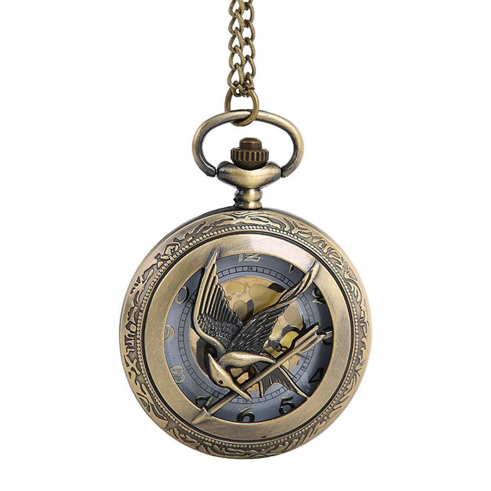 Bird with Arrow Pocket Watch