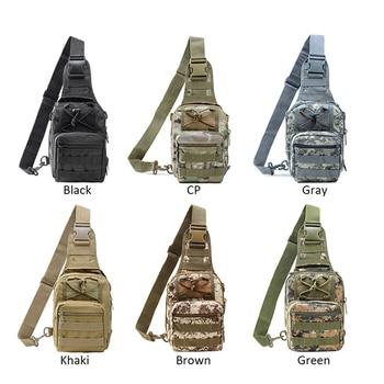 Zebella Mannen Vrouwen Militaire Tas Tactische Borst Tassen Unisex Mode Camouflage Handtassen Cool Camping Wandelen Reizen Schoudertassen