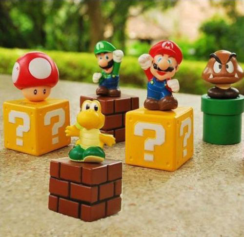 Super Mario Cake Toppers