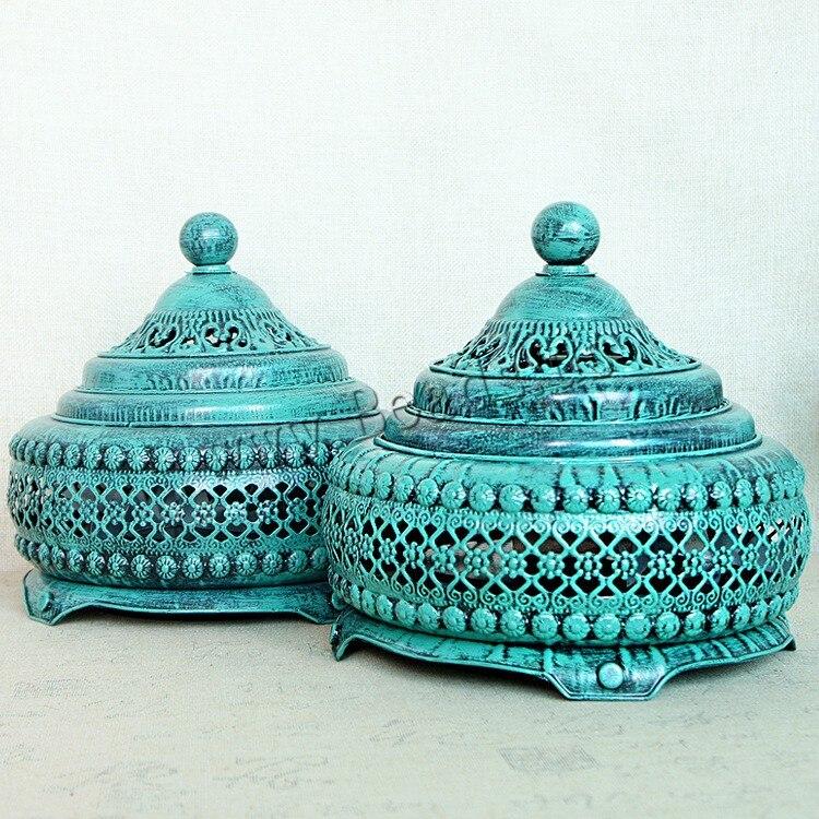 1 pièces creux artisanat retour brûleur d'encens titulaire bobine encensoir d'encens arôme bâtons disque aromathérapie maison salon décor