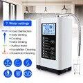 Augienb 6000 мл Ионизатор Воды Очиститель фильтр ЖК-дисплей Touch управление со щелочной кислотой машина PH 3,5-10,5 фильтр очистки воды