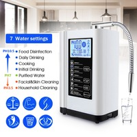 Augienb 6000ml Water Ionizer Purifier Filter LCD Touch Control Alkaline Acid Machine PH 3.5 10.5 Filter Water Purification