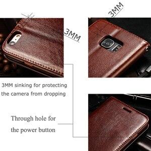 Image 4 - Caso di vibrazione Del Raccoglitore per Samsung Galaxy S6 SM G9200 6 S SM G920I SM G920FSM G920FD SM G9200 G920i G920F G920FD Copertura di Cuoio di Lusso