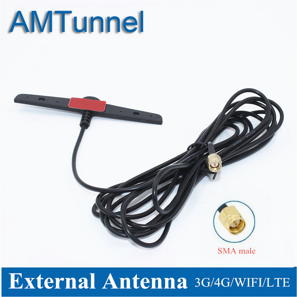Antenna 4G LTE Antenna 5dBi 2.4GHz WiFi Antenna SMA Male 3m B315 Outdoor Antenna For Huawei B525 B310 B593 ZTE Routers
