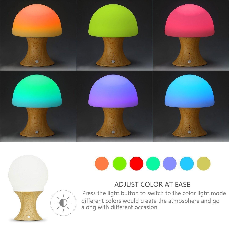 online cheap kids mushroom table lamp aliexpress