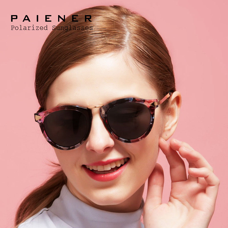 Brand design Women Sunglasses Polarized UV Vintage Arrow Female Sun Glasses Oculos De Sol Feminino Gafas De Sol with accessories