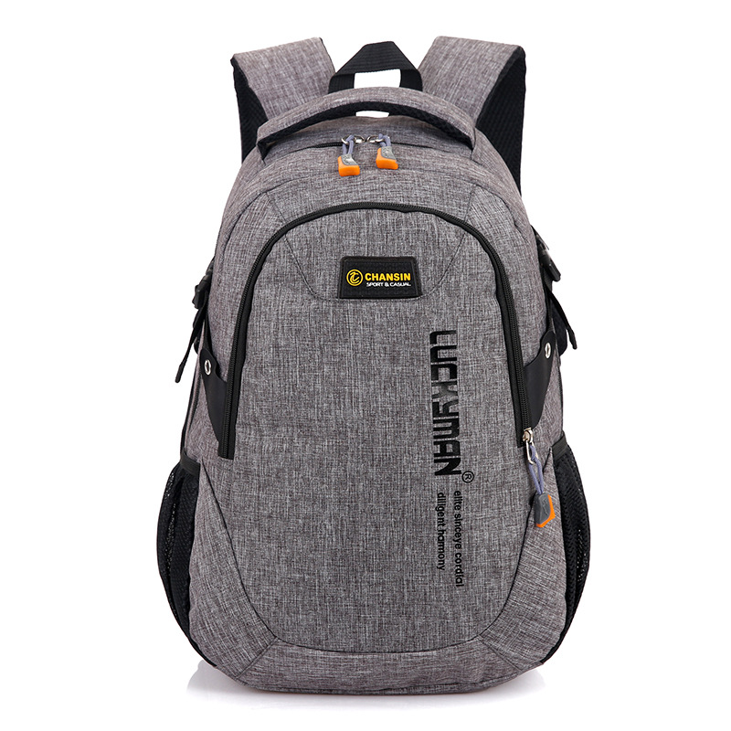 Brand Canvas Men Women Backpack College High Middle School Bags For Teenager Large Capacity Casual Laptop