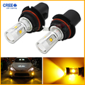 2pcs JDM Gold Yellow 3000K 30W CRE E High Power 9004 HB1 LED Replacement Bulbs For car Headlights Fog Driving Lamps