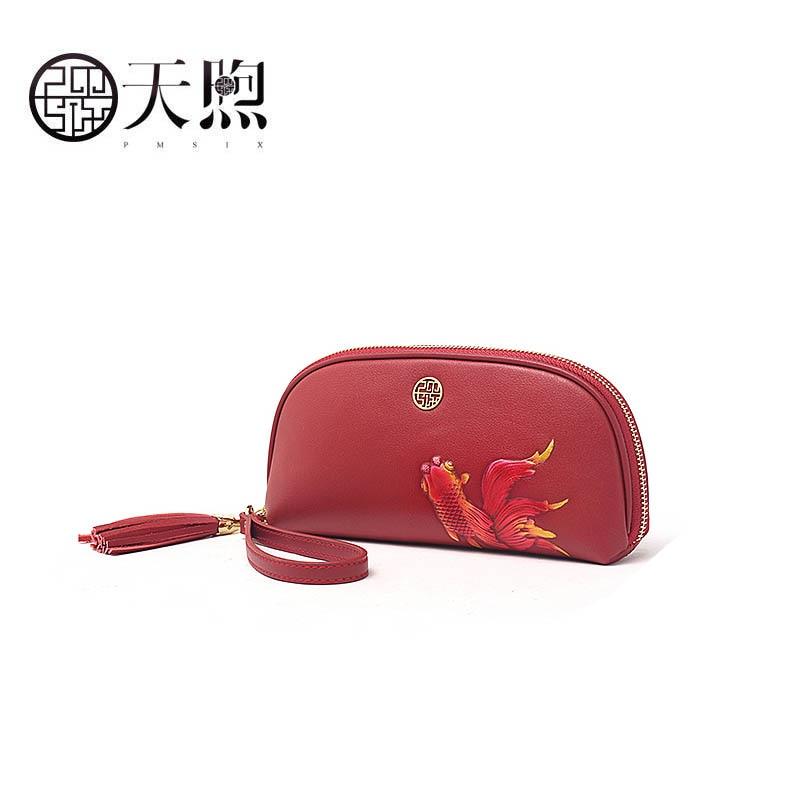 Pmsix 2019 Neue Überlegene Echtem Leder Handtaschen Mode Frauen Luxus Mode Präge Handtasche Clutch Tasche Frauen Leder Tasche Gepäck & Taschen Kupplungen