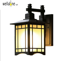 led outdoor light mounted lighting wall lamps ip65 american fashion waterproof aluminum balcony light 110V/220V