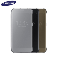 100 Original Samsung S7 Clear View Cover G9300 Case EF ZG930C for Samsung Galaxy S7