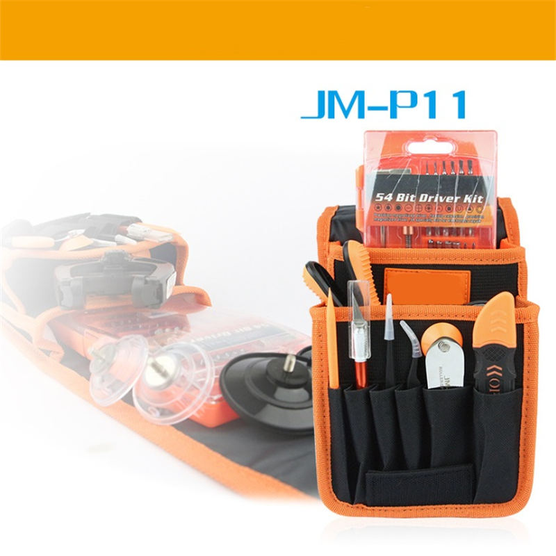 Urijk JM-P11 69 In 1 Portable DIY Repairing Tool Set Screwdriver Knives Pliers Sockets Mobile Phone PC ElectriciaL Opening Tools