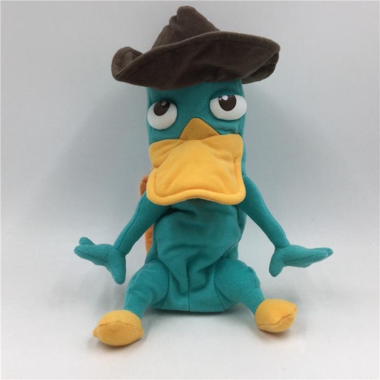 Perry peluche Agent P Perry peluche animaux jouets en peluche 30 cm deux en un
