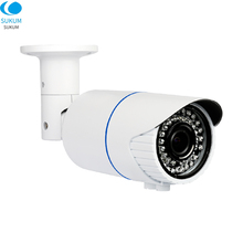 цена на 2MP Onvif Security HD IP Camera 1080P Outdoor Waterproof CCTV Bullet Camera 4X Zoom 2.8-12mm Manual Varifocal lens POE Camera