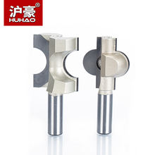 HUHAO 1pc 1/2 Shank Router Bits For Wood  Woodworking Tool Semicircle Mortise  Stitching Knife Floor T - mortis CNC Cutter huhao 1pc 1 2 shank cnc bit woodworking tools two flute router bits for wood cutting professional grade door router tool