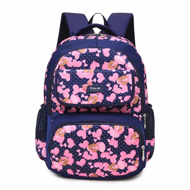 Детские школьные сумки Девушки Дети Ортопедические рюкзаки Начальная школа рюкзак ранцы дети портфель sac enfant mochila infantil