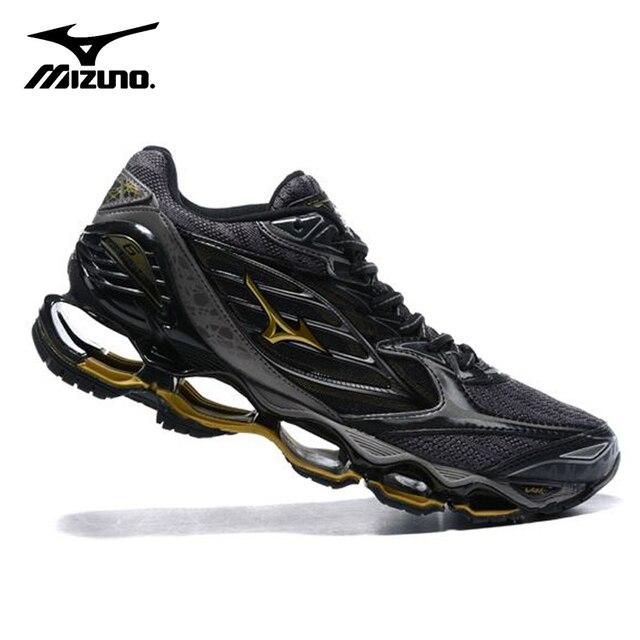 2018 оригинальные Mizuno Wave Prophecy 6 Мужская обувь Air амортизирующие кроссовки Обувь с дышащей сеткой Вес подъема обувь Размер 40-45