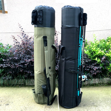 GHOTDA Fishing Bags Rod Pesca Carrier Fishing Lure Pole Tools Case Fis